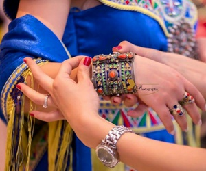 blue, mariage, and kabyle image