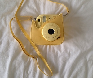 yellow, camera, and photography image