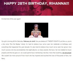 rihanna, best wishes, and happy birthday robyn image