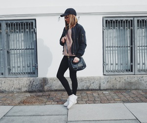 bag, style, and nike air force image