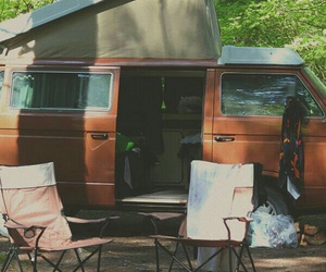 camping, travel, and car image