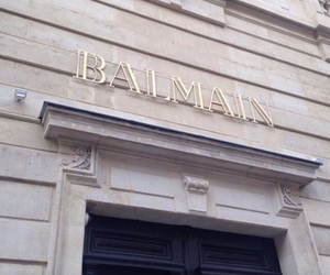 Balmain, luxury, and store image
