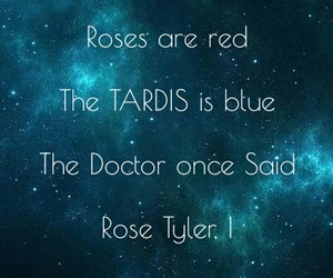 doctor, rose tyler, and doctor who image