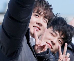 teen top, chunji, and ljoe image