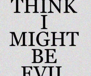 evil, quote, and text image