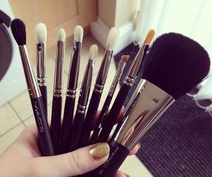 Brushes, makeup, and mac image