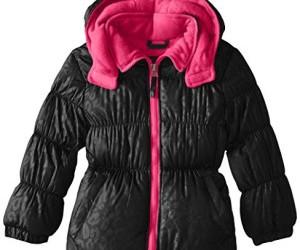 beautiful, coat, and pink image