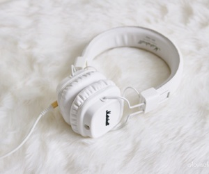 fashion, girl, and headphones image