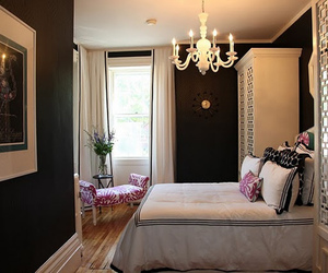 bedroom, luxury, and decor image