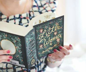 book and little women image