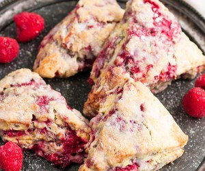 food, sweets, and scones image