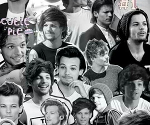 louis, one direction, and larry image