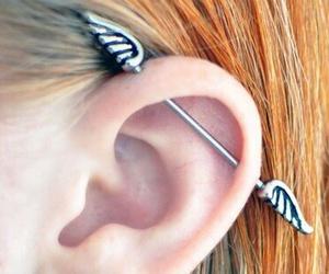 piercing, transversal, and ginger image
