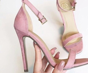 elegance, pink, and style image