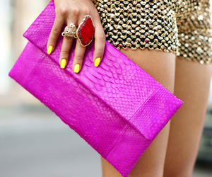 bag, style, and clutch image