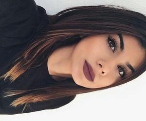 lips, women, and pircing image