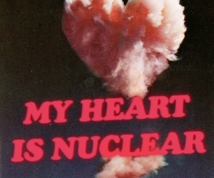 heart, nuclear, and grunge image