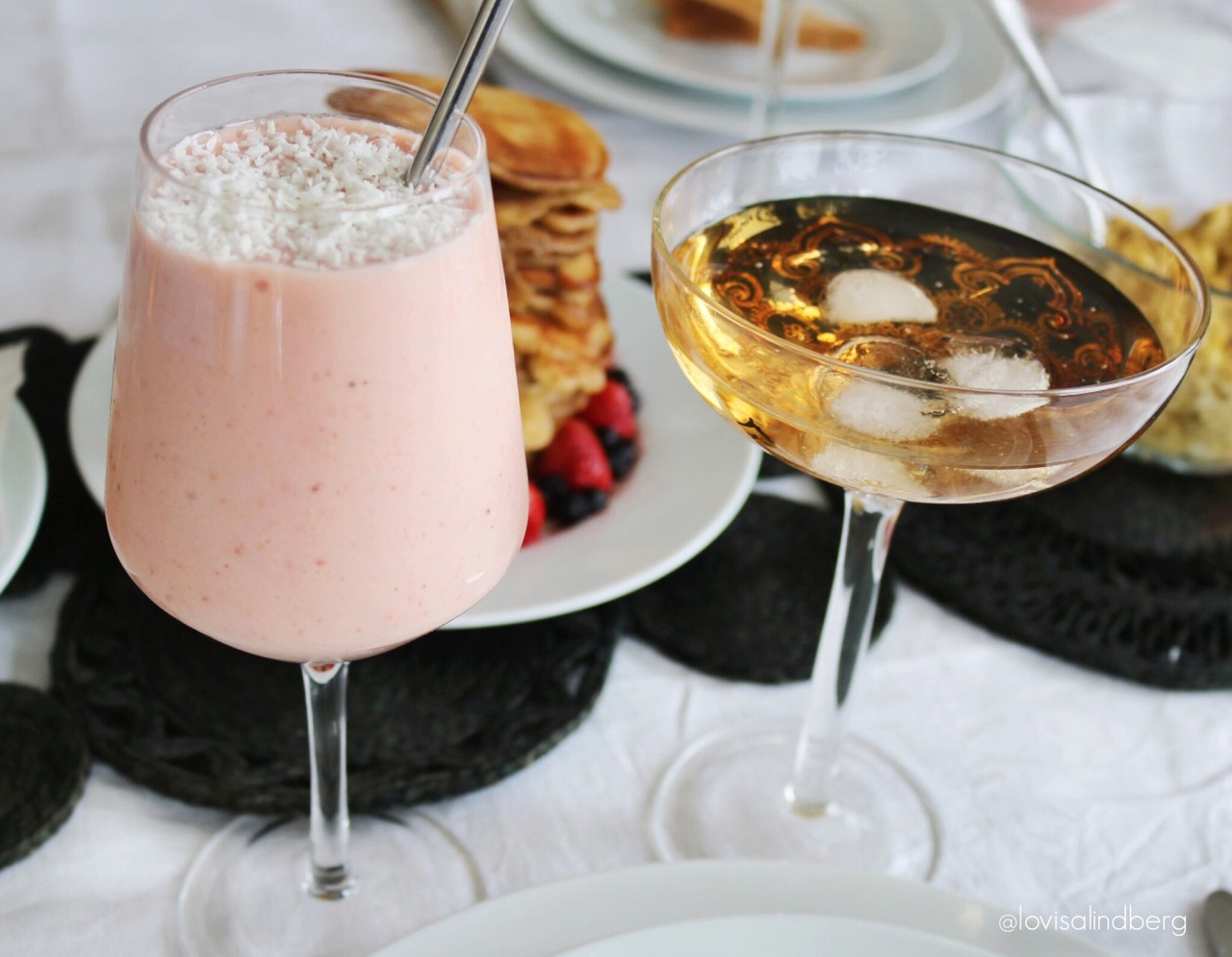 drink, breakfast, and fashion image