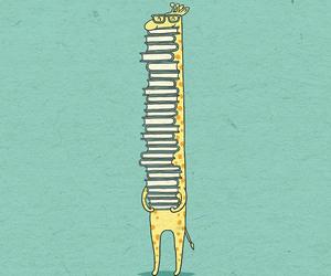 book and giraffe image