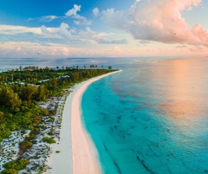 aerial, amazing, and beach image