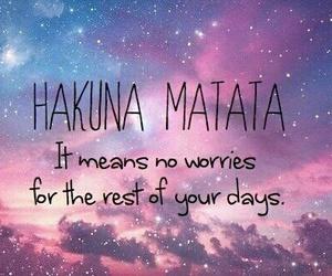 hakuna matata, napisy, and subtitles image