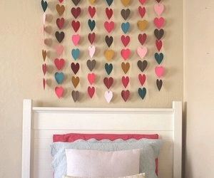 diy, hearts, and room image