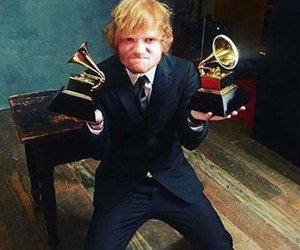 ed sheeran, grammy, and ed image