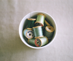 photography, vintage, and thread image