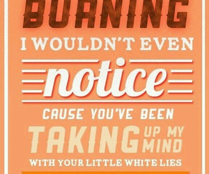 little white lies, Lyrics, and 1d lyrics image