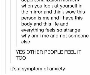 anxiety, funny, and haha image