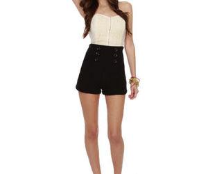 Cute Black Shorts - Knit Shorts - High-Waisted Shorts - $46.00