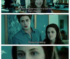 bella swan, edward cullen, and funny image