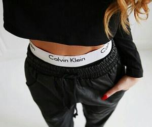 fashion, Calvin Klein, and black image