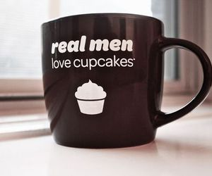 cupcake, mug, and men image