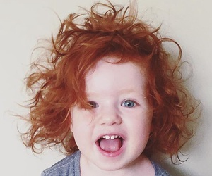 cute, baby, and redhead image
