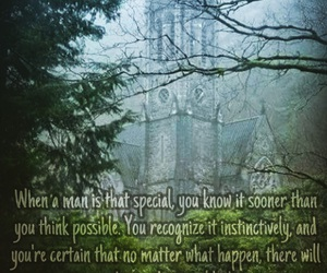 castle, photograph, and quote image