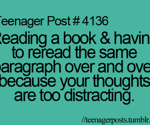 books, teenager, and teenager post image