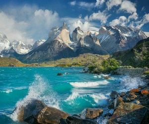 beautiful, chile, and mountains image