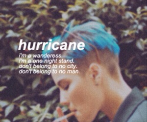 halsey, hurricane, and music image