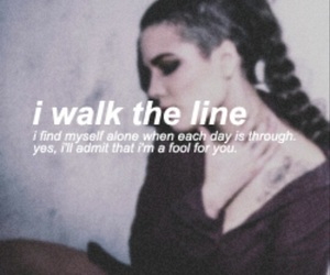 halsey, i walk the line, and badlands image