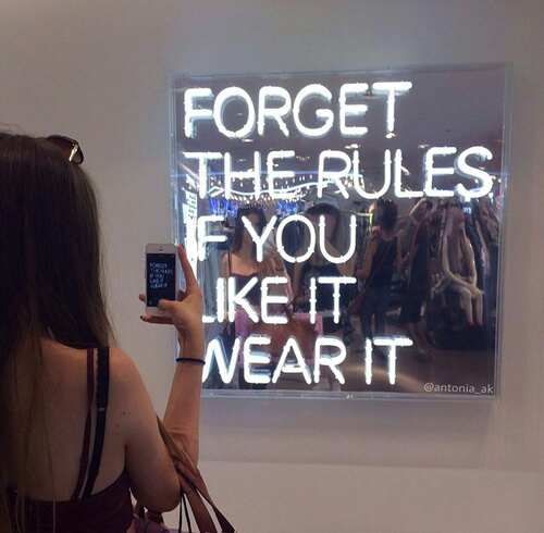 quotes, rules, and tumblr image