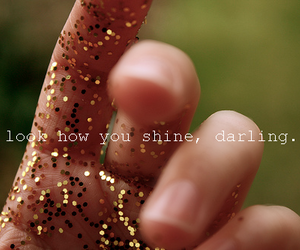shine, glitter, and quotes image