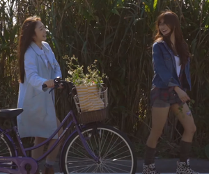 best friends, bff, and bicycle image
