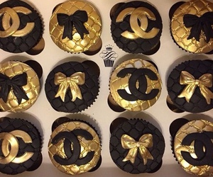 chanel, chic, and cupcake image