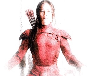 the hunger games, tribute, and mockingjay image
