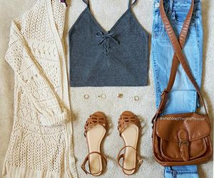 beautiful, girly, and jeans image