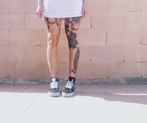 tattoo and vans image