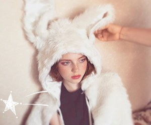 fashion, fur, and model image