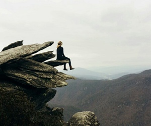 adventure, alone, and girl image