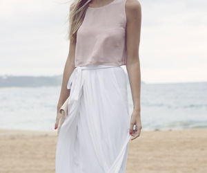 style, beach, and clothes image